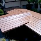 ガルバ鋼板葺き完成