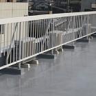 屋上フェンス塗装